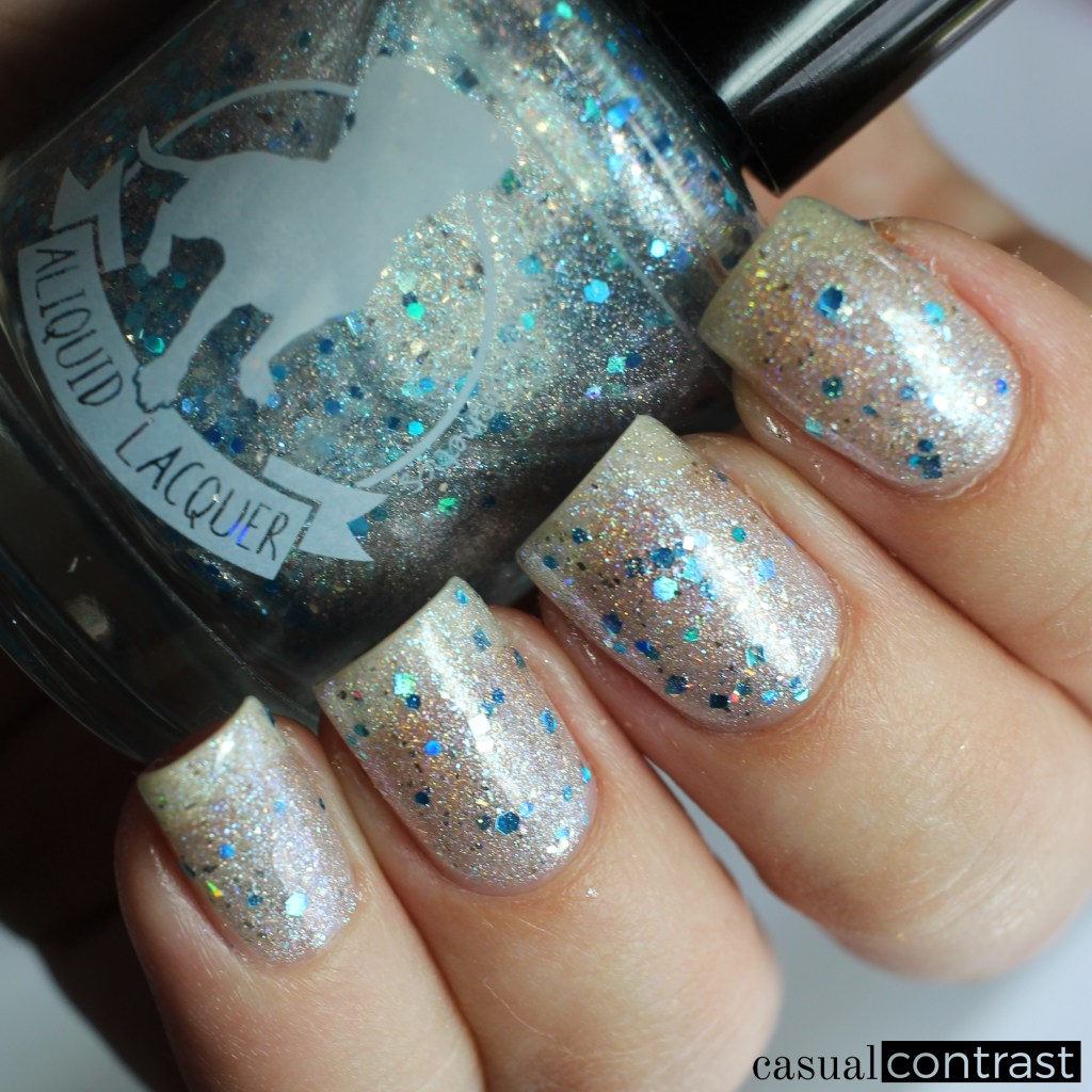 ALIQUID Tree Swallow from the ALIQUID Nail Polish Is For The Birds Collection • Casual Contrast