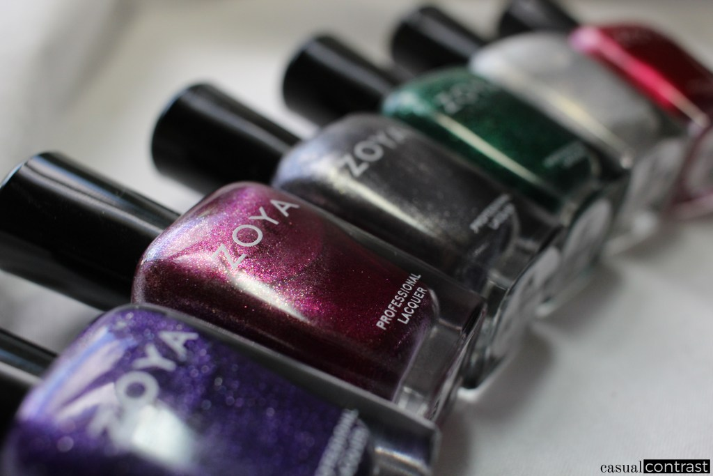 Zoya Urban Grunge Collection Metallic Holos • Casual Contrast