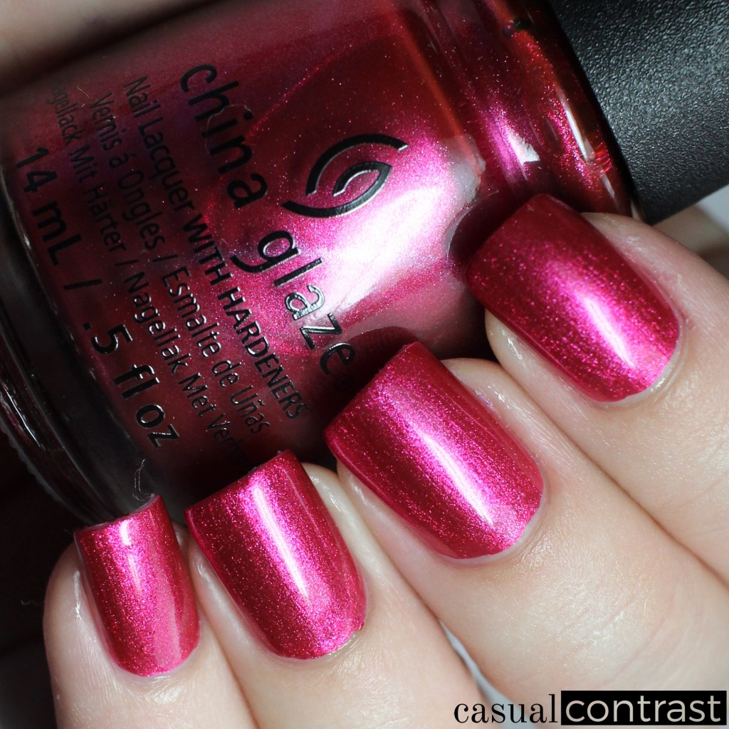 China glaze seas and greetings collection swatches review china glaze the more the berrier from the china glaze seas and greetings collection casual m4hsunfo