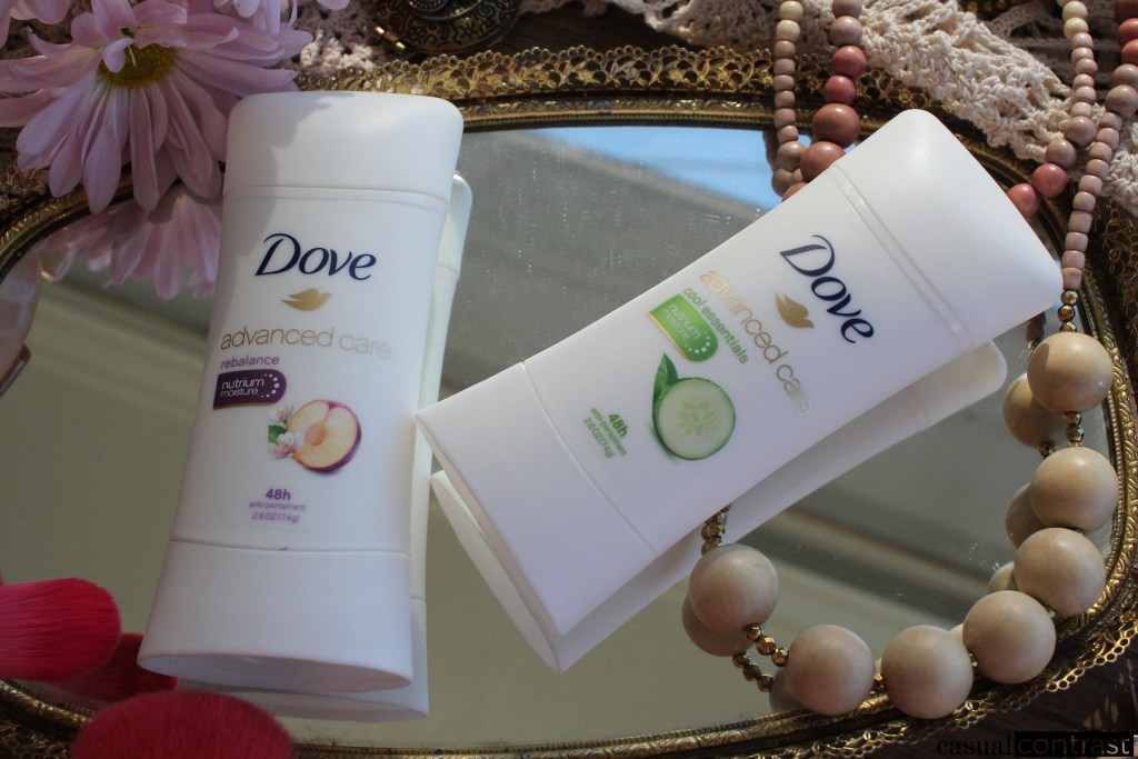 Beauty Secrets Worth Sharing: Dove Advanced Care Deodorant • Casual Contrast