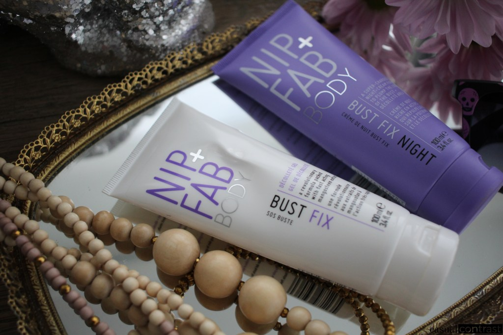 Nip + Fab Bust Fix & Bust Fix Night: A Review • Casual Contrast