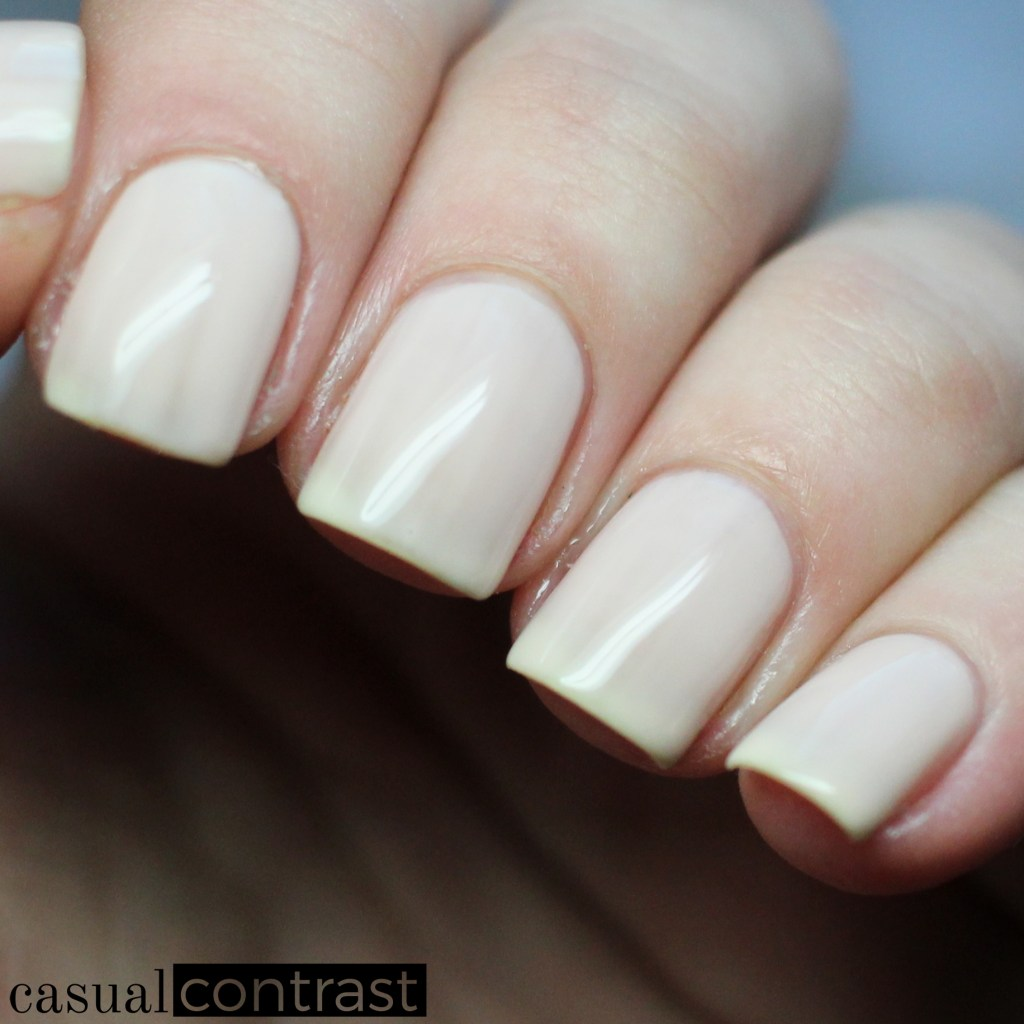 Sally Hansen Miracle Gel Birthday Suit from the Festival Floral Collection: Swatches & Review • Casual Contrast