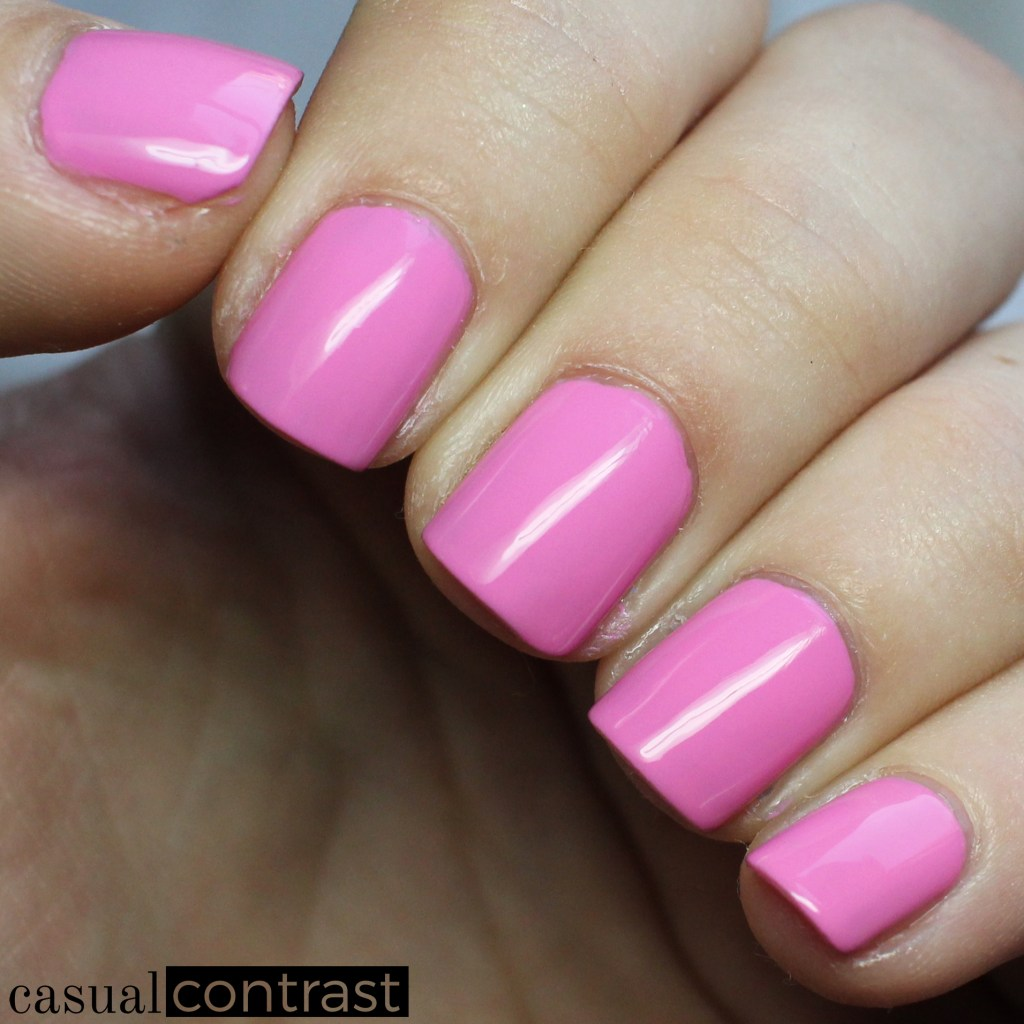 LVX Camellia from the LVX Spring Summer 2017 Nail Lacquer Collection • Casual Contrast
