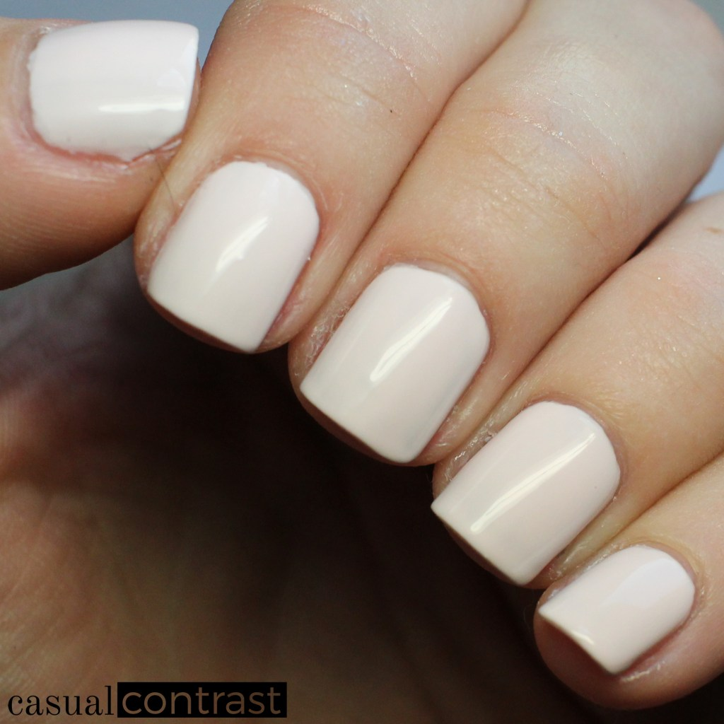 LVX Coquillage from the LVX Spring Summer 2017 Nail Lacquer Collection • Casual Contrast