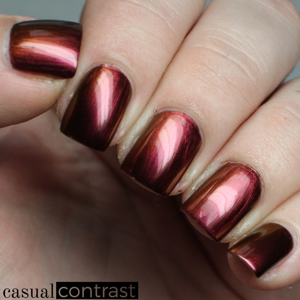 Eternal from the LeChat Perfect Match Metallux Collection: Swatches & Review • Casual Contrast