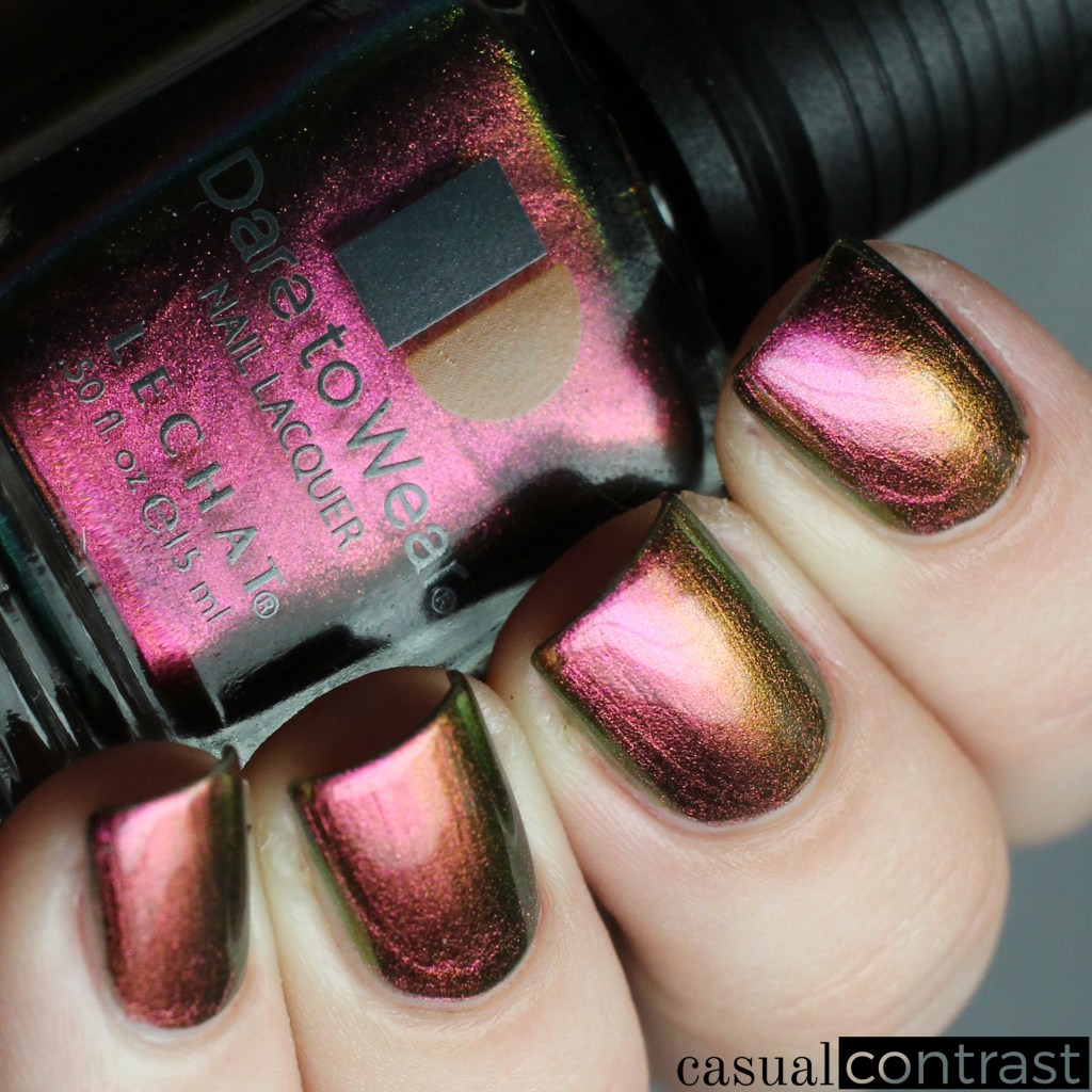 Mesmerize from the LeChat Perfect Match Metallux Collection: Swatches & Review • Casual Contrast
