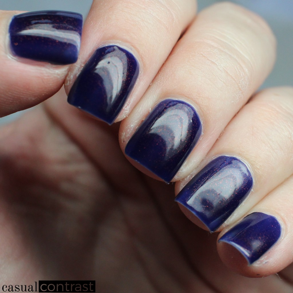 KBShimmer Let's Slang from the KBShimmer Unicorn Pee Polishes • Casual Contrast