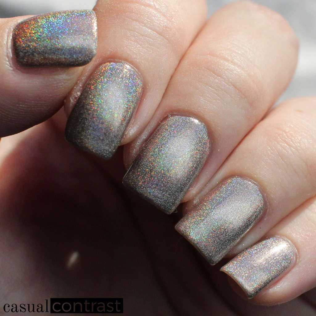 KBShimmer You're Brew-tiful from the Holo-Day Collection 2017: Swatches & Review! •Casual Contrast