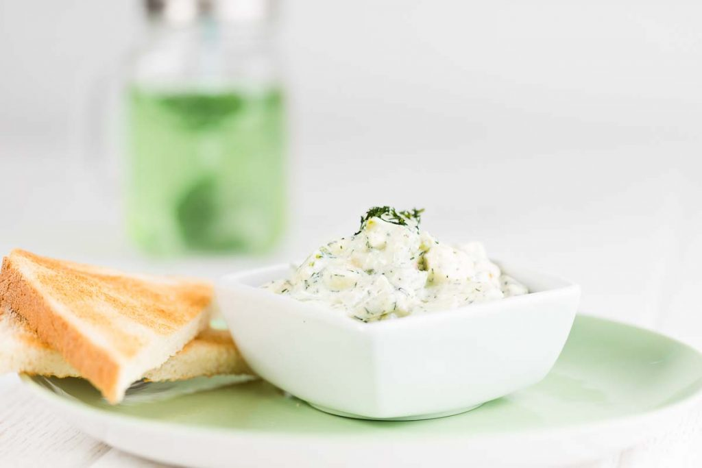 Gurke Avokado Salat casual cooking österreichischer food blog