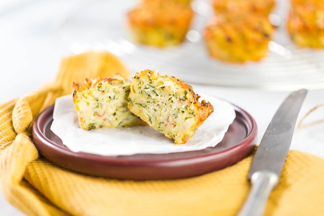 Bärlauch Muffins Bärlauchmuffins casual cooking österreichischer food blog
