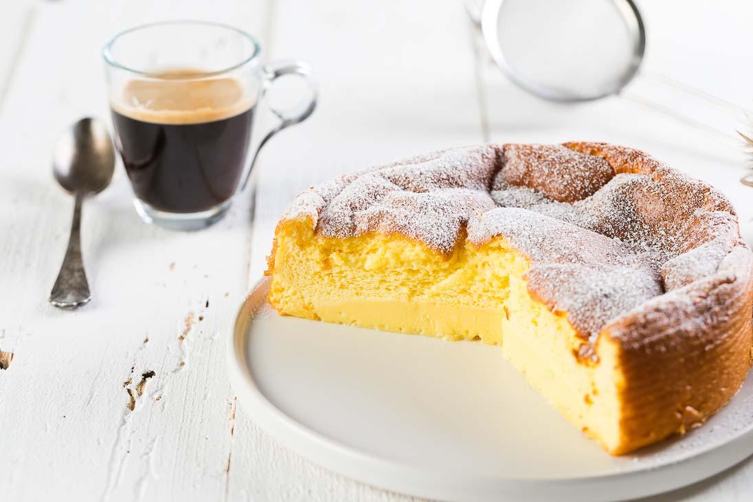 fluffiger Cheesecake mit weißer Schokolade casual cooking österreichischer food blog