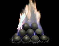 hargrove-fireplace-cannon-balls | Casual Image