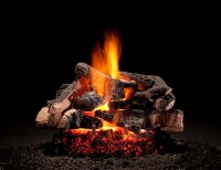 hargrove-fireplace-rustic-timbers | Casual Image
