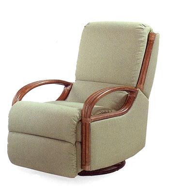 Wicker ReclinersSwivel Rocking Chairs