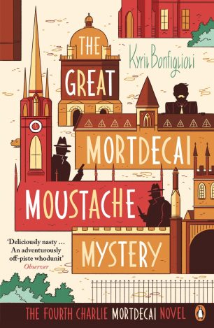 The Great Mordecai Moustache Mystery by Kyril Bonfiglioli; design by Richard Green; illustration by Luke Pearson (Penguin / 2014)
