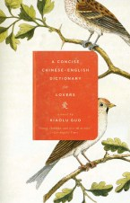 A Concise Chinese-English Dictionary for Lovers by Xiaolu Guo; design by Gabriele Wilson (Vintage, June 2008)