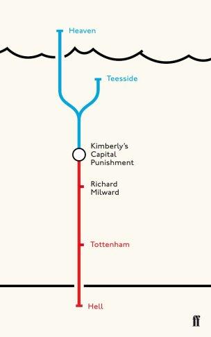 Kimberly's Capital Punishment by Richard Milward; design by Luke Bird (Faber & Faber / July 2012)