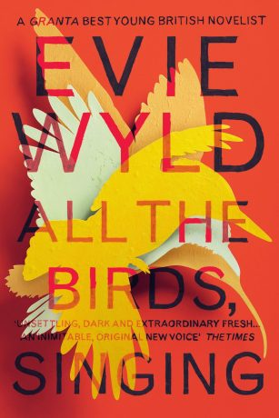 All the Birds Singing by Evie Wyld; design by Matt Broughton (