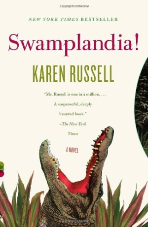 Swamplandia by Karen Russell; design by John Gall (Vintage / July 2011)