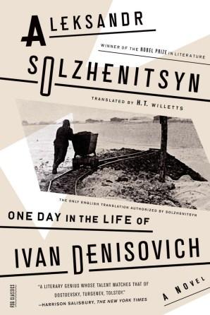 One Day in the Life of Ivan Denisovich by Aleksandr Solzhenitsyn; design by Oliver Munday (FSG / 2014)