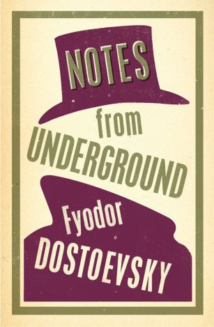 Notes from the Underground by Fydor Dostoevsky; design by Nathan Burton (Alma / 2014)