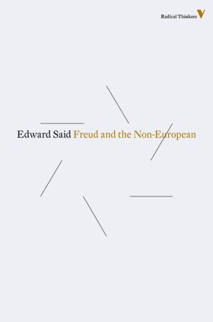 Freud and the Non-European by Edward Said; design by Rumors (Verso / 2014)