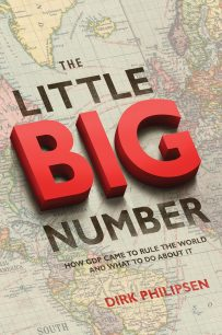 The Little Big Number by Dirk Philipsen; design by Amanda Weiss ( Princeton University Press / June 2015)