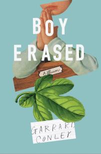 Boy Erased by Garrard Conley; design Rachel Willey (Riverhead / May 2016)