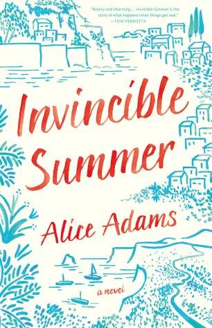 Invincible Summer by Alice Adams; design by Lauren Harms (Little, Brown & Co. / June 2016)