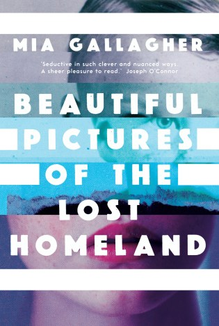 Beautiful Pictures of the Lost Homeland by Mia Gallagher; design by Anna Morrison (New Island Books / August 2016)