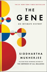 Gene by Siddhartha Mukherjee; design by Jaya Miceli (Scribner / May 2016)