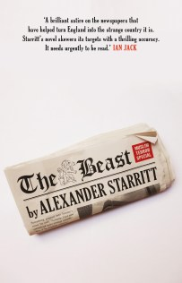 The Beast by Alexander Starritt; design by Gray318 (Head of Zeus / September 2017)