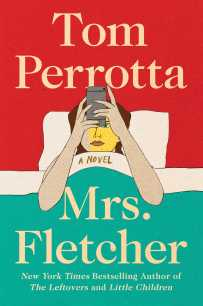 Mrs. Fletcher by Tom Perrotta; design by Jaya Miceli (Scribner / August 2017)