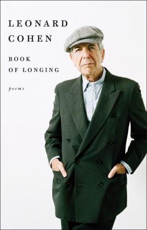 Book of Longing by Leonard Cohen; design by Allison Saltzman (Ecco / October 2017)