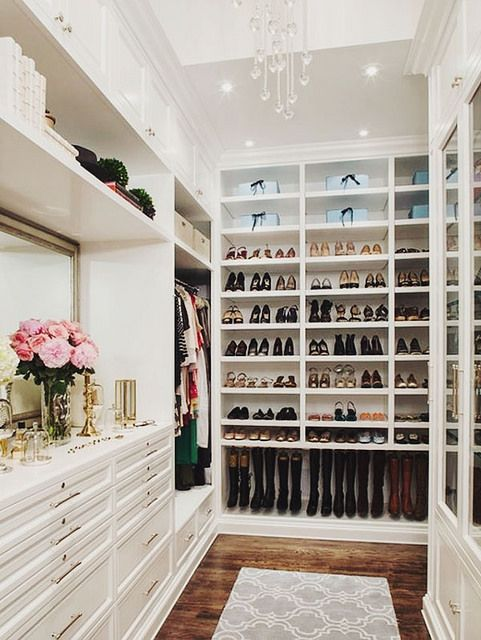 Shoes in Closet