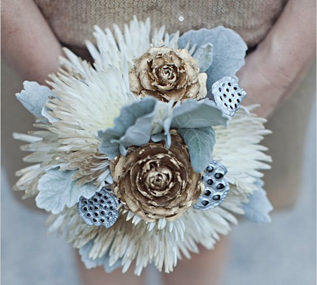Metallic Bouquet
