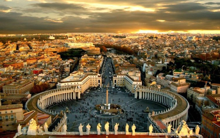Vatican City and Rome