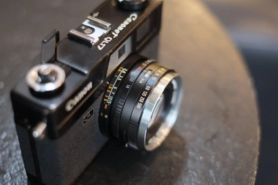 Canonet Lens Barrel