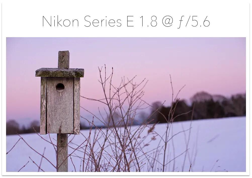 Nikon Series E 5.6