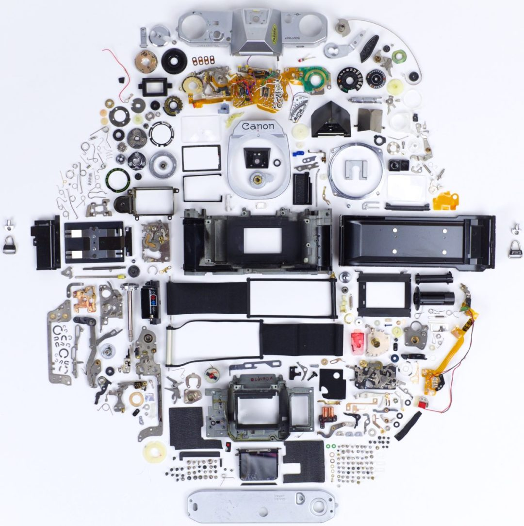 Canon AE 1 Exploded View 10