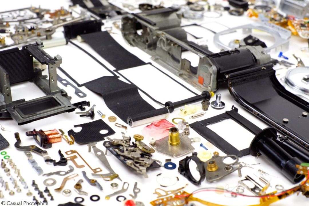 Canon AE 1 Exploded View 15