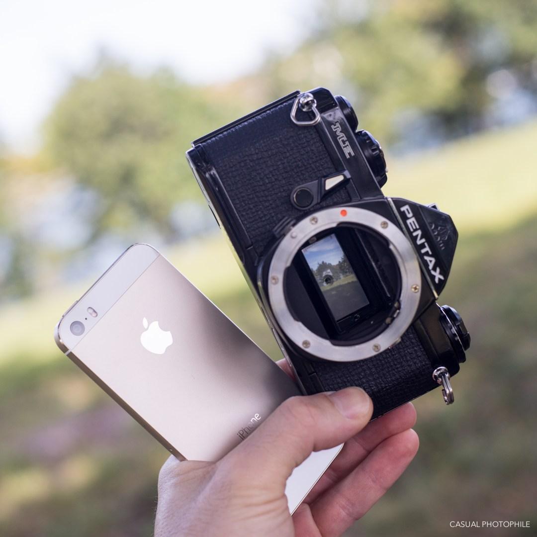 Pentax ME 35mm Film Camera Review