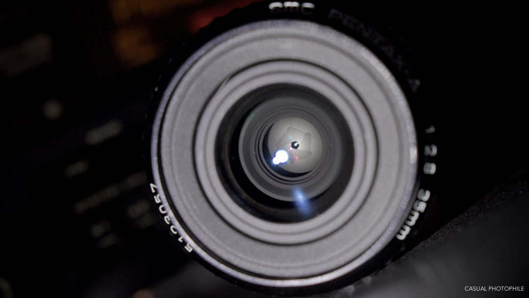 Pentax A SMC 35mm 2.8 Lens Review