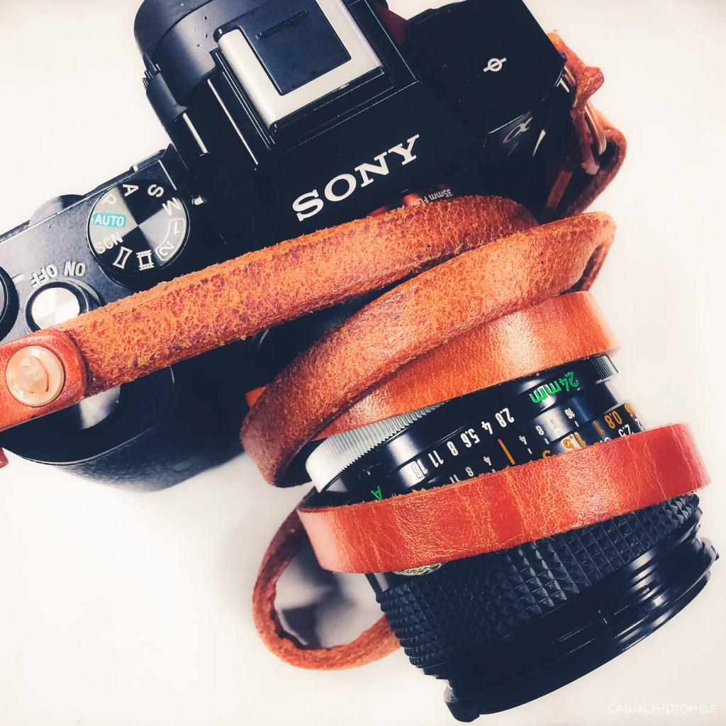 Artisan Origin Leather Camera Strap