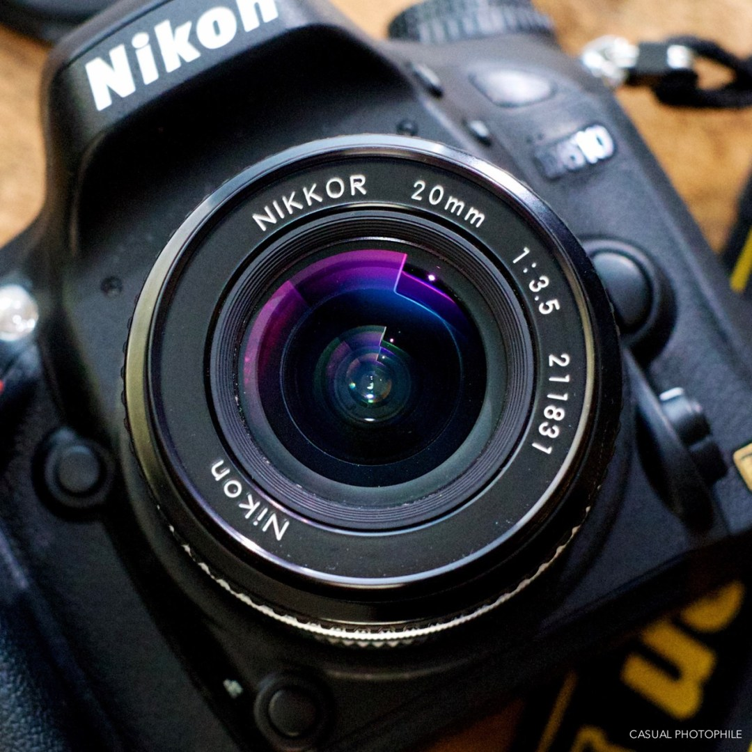 why shoot wide angle lens