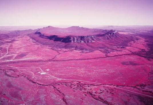 Image 2 - GB - Wilpena Infrared - Fuji GW690III, Kodak Aerochrome
