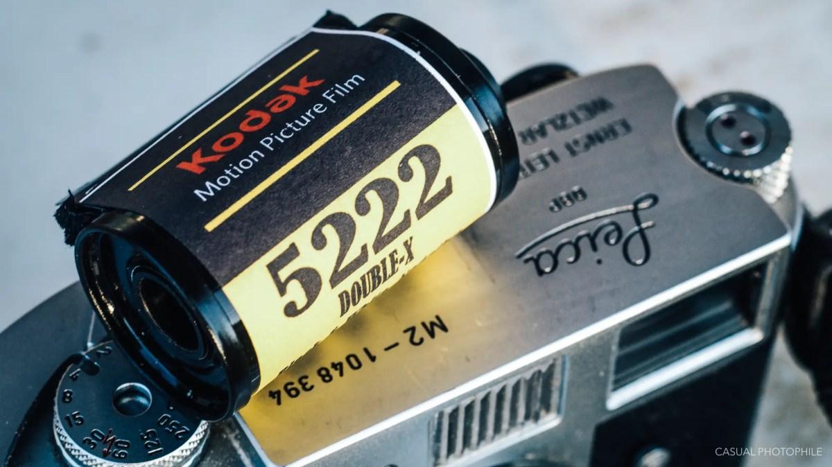 Eastman Kodak Double-X (5222) - a Cinematic Black and White Film