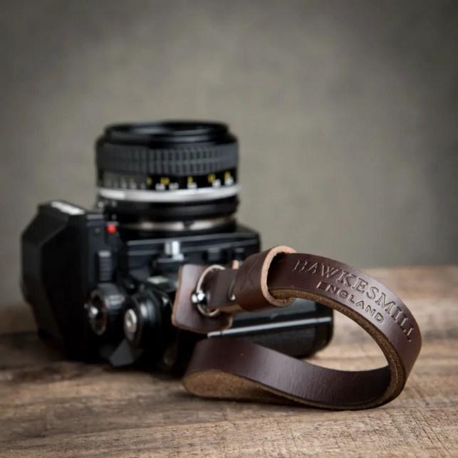 Hawkesmill-Leather-Camera-Wrist-Strap-Nikon-Brown2