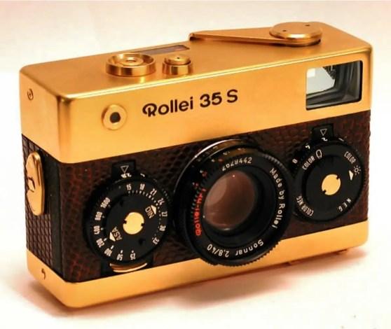 rollei gold camera