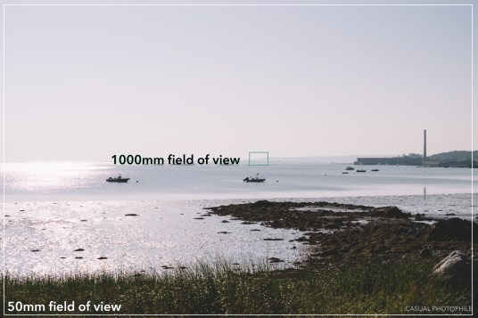 field of view 1000mm